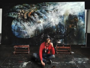Benjamin Burkard - Profilbild mit Leviathan