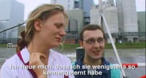 Ausschnitt aus dem Gewinner-Kurzfilm des 1.Kurzfilmfestivals in der Villa Böhm