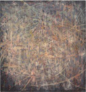 o.T.,  Öl/Tempera auf Leinwand, 150 x 140 cm, 2021