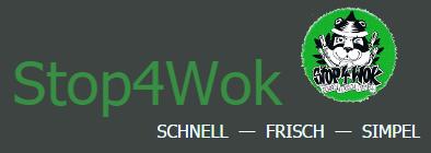 Stop for Wok Logo